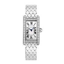 Cartier Tank Americaine Quartz Ladies Watch Ref WB710009