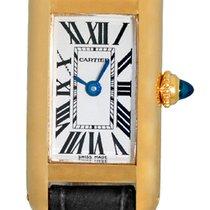 "Cartier MINI ""Tank Allongée"" Strapwatch."