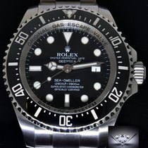 Rolex Deepsea Sea-Dweller Steel & Ceramic Mens Dive Watch...