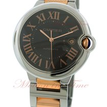 Cartier Ballon Bleu Large Automatic, Brown Dial - Pink Gold...