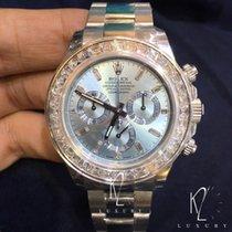 Rolex Cosmograph Daytona in Platinum & Diamond Bezel -...