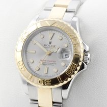 Rolex Lady Yachtmaster Edelstahl / 18K Gelb Gold Automatic