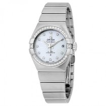Omega Ladies 12315272055003 Constellation Co-Axial Watch