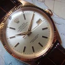 """Rolex 1953 Rare & Important RED GOLD Datejust """"OVETONE..."""