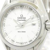 歐米茄 (Omega) Polished Omega Seamaster Aqua Terra Ladies Watch...