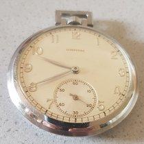 Longines 38. Longines – military pocket watch – metal dial –...