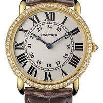 Cartier WR000451 Ronde Louis Cartier on Yellow Gold and...