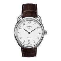 Hermès Arceau Automatic TGM 41mm Mens Watch Ref AR7.710.220/MHA