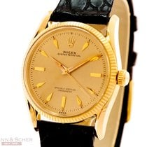 Rolex Vintage Bombay Ref-6593 14k Yellow Gold Bj-1960
