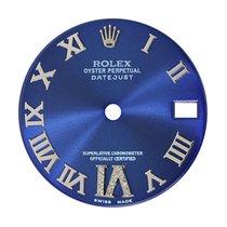 Rolex DateJust 31mm Blue/Roman Numerals Custom Dial