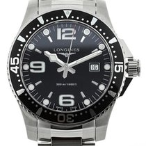 Longines Hydroconquest Black Dial