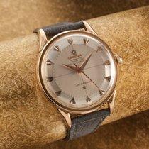 Omega Constelation rare french case rose gold vintage dress watch
