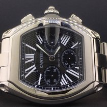Cartier Roadster W62020X6  XL Chronograph Automatic Stainless...