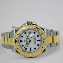 Rolex Yacht-Master White Dial Stainless steel & 18K Yellow...