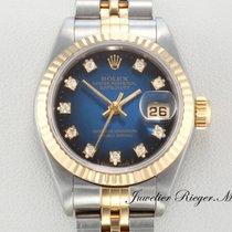 Rolex Datejust Stahl Gold 750 Diamanten Automatik Date Just Lady