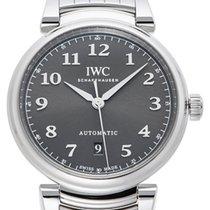 IWC Da Vinci Slate Colored Dial Steel Bracelet Swiss Automatic...