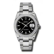 Rolex Datejust Stainless Steel 36MM Diamonds Automatic