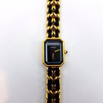 Chanel Première Premiere Gold Plated Quartz Watch Medium Size