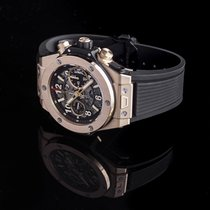 Hublot Big Bang Unico King Gold Mat Black 18k King Gold/Rubber...