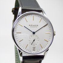 Nomos Glashütte Orion 380 Datum Glasboden