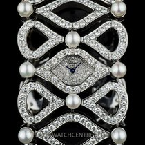 Chopard 18k White Gold Diamond and Pearl Ladies B&P...