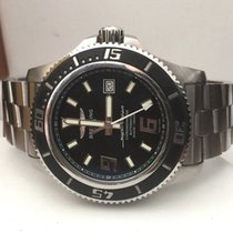 Breitling SuperOcean Pilotband Steel Full Set Black Dial 44 mm...
