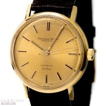 IWC Vintage DeLuxe Gentlemans Automatic Ref-807A 18k Yellow...