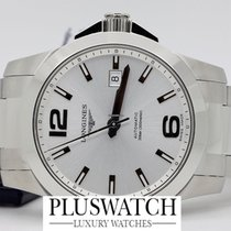 Longines Conquest Automatic 41 mm Silver Dial