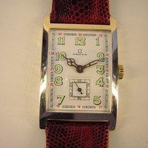 Omega Vintage Jugendstil Armbanduhr in 14k Gold