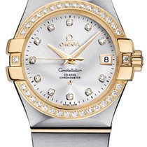 Omega Constellation Co-Axial Automatic 35mm 123.25.35.20.52.002