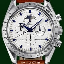 Ωμέγα (Omega) Speedmaster 42mm Moonphase 18k WG Bezel Bracelet...