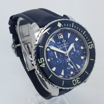 Blancpain Fifty Fathoms Flyback Chronograph 44mm Steel Watch...