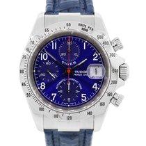 Tudor 79280 Tiger Prince Date Chronograph Blue Dial Watch