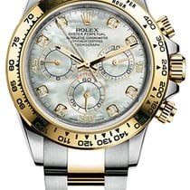 Rolex Oyster Daytona 40mm Steel and Yellow Gold 116503...