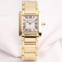 Cartier Lady Tank Francaise 18K Yellow Gold