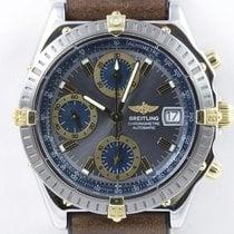 Breitling Chronomat Chronograph Datum Schnellschaltung Stahl Gold