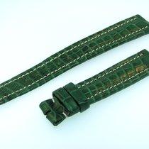 Breitling Band 16mm Croco Grün Green Verde Strap Für Dornschli...