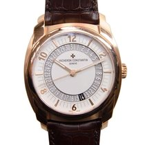 Vacheron Constantin The Quai De Lile 18k Rose Gold Silvery...