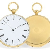 Lequin & Yersin Pocket watch: fine, early Lepine with...