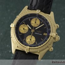 Breitling 18k Gold Chronomat Cockpit Chronograph Automatik 81950