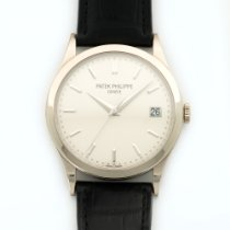 Patek Philippe White Gold Calatrava Automatic Watch Ref. 5296G
