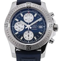 Breitling Colt Chronograph Black Rubber Automatic Men's...