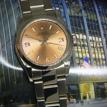 Rolex Oyster Perpetual 31mm Steel Salmon Dial Ladies Midsize...