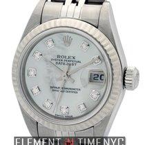 Rolex Datejust Ladies Steel MOP Serti Dial Circa 2000