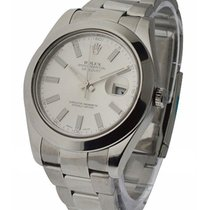 Rolex Used 116300_used_silver_stick Datejust II 41mm Automatic...