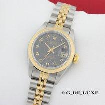 Rolex Oyster Perpetual Datejust Damenuhr Stahl Gold