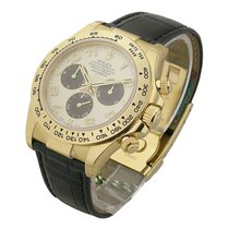 Rolex Unworn 116518 Daytona - Yellow Gold on Strap 116518 -...