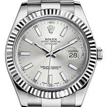 Rolex Datejust II Silver Index - 126334