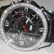 Jacob & Co. JC Five Time Zone 47MM Diamonds