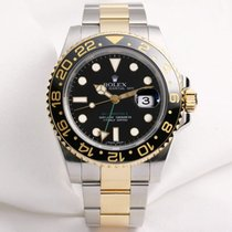 Rolex GMT-MASTER II 116713 LN Steel & Gold